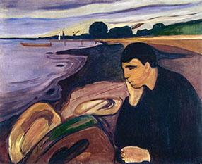 Edward Munch Melancolia